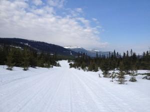 Sentier motoneige des Chic-Chocs en Gaspésie