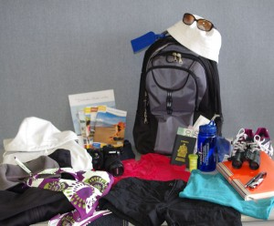 Some of the things you should bring on your next trip  ©Le Québec maritime