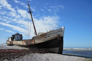 The Calou shipwreck on Anticosti Island ©