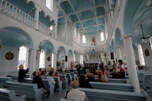 Rivière-au-Tonnerre's church © Eric Marchand