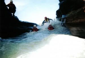 Activities in the caves of Îles de la Madeleine ©Auberge La Salicorne