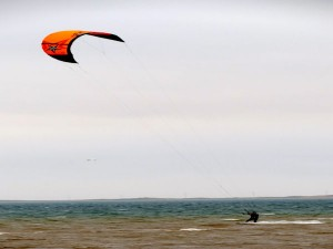 The Islands are a great playground for kitesurfers © David Lang