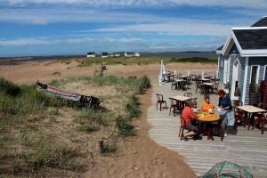 La terrasse du café de l'Échourie ©Eric Marchand