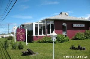 Motel Fleur de Lys à Cap-Chat, Gaspésie
