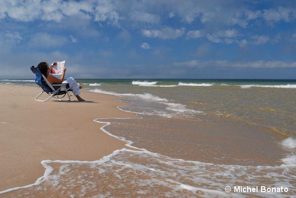 Plages de sable blond aux Îles de la Madeleine