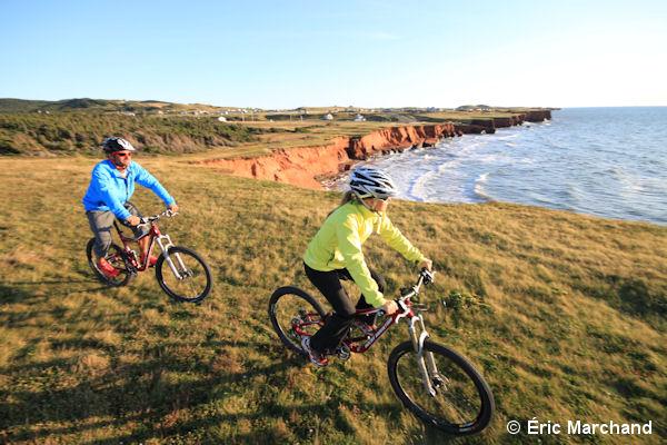 Vélo aux Îles de la Madeleine
