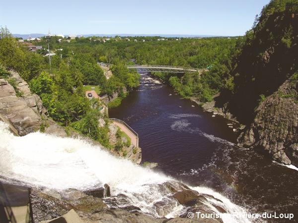 Parc chute Rivière-du-Loup