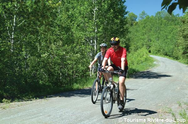 Vélo Petit Témis Rivière-du-Loup