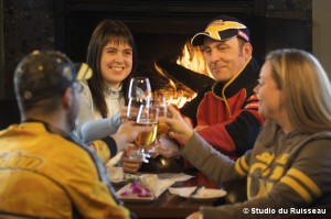 L'hiver, c'est aussi de profiter des bonnes tables des hôteliers de nos régions.