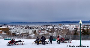 One of the spot to see the great view on the St. Lawrence and Rivière-du-Loup
