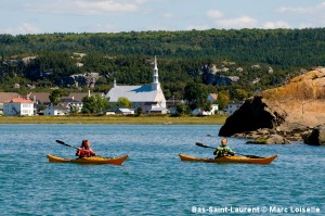 kayak Bas-Saint-Laurent