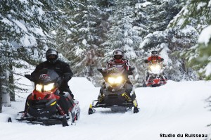 Snowmobile Témiscouata