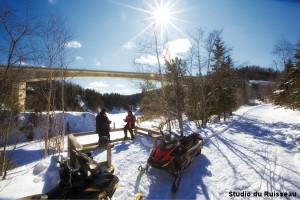 Snowmobile Rimouski