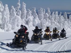 snowmobile La Rédemption