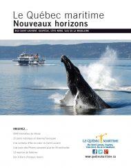 Le Québec maritime, Nouveaux horizons