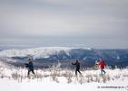 Traversée de la Gaspésie à ski de fond et raquette