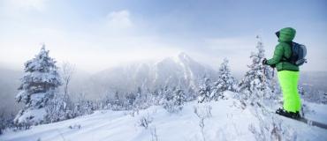 Les sports d'hiver au Québec maritime : La descente en ski et la planche à neige