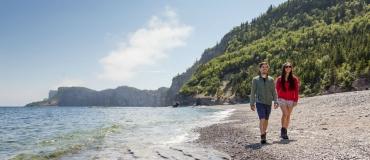 Les parcs nationaux de la Gaspésie vus par Émilie Devoe et Rémi Plourde