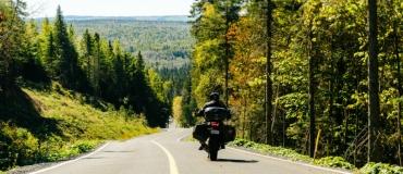 Le Témiscouata à moto : une foule de sensations