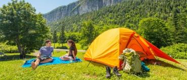 Venez camper au Québec maritime