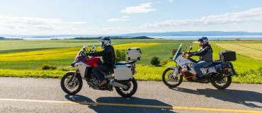 Escapade à moto dans l'est du Québec : on répond à vos questions!