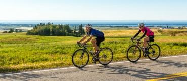 Le vélo sous toutes ses formes dans les régions du Québec maritime