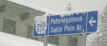 L'hiver à Pohénégamook Santé Plein Air