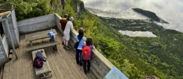 Hiking Spots in the Gaspésie and Bas-Saint-Laurent Regions