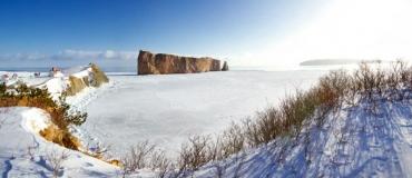 3 bonnes raisons de visiter la Gaspésie en hiver