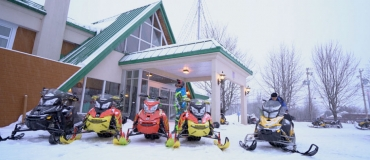 Hébergements pour motoneigistes en Gaspésie
