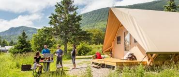 Découvrez les tentes oTENTik de Parcs Canada!