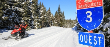 Planning a Snowmobile Trip in Côte-Nord