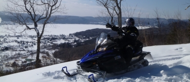 The South Side of the Gaspé Peninsula: Some Unforgettable Snowmobile Trails