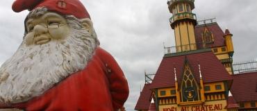 Le Père Noël comme à la maison à Rivière-du-Loup
