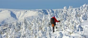 Un séjour hivernal dans les parcs nationaux du Québec maritime!