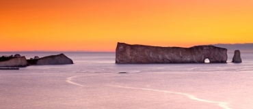 Did you know that Percé Rock used to have more than one hole?