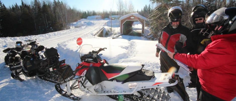 Preparing for a Snowmobile Trip in the Maritime Regions of Québec