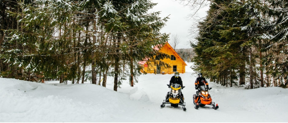 Snowmobile-Friendly Lodging in Bas-Saint-Laurent