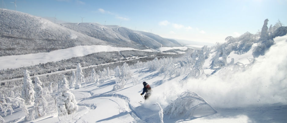 Backcountry Skiing and Snowboarding in the Chic-Chocs