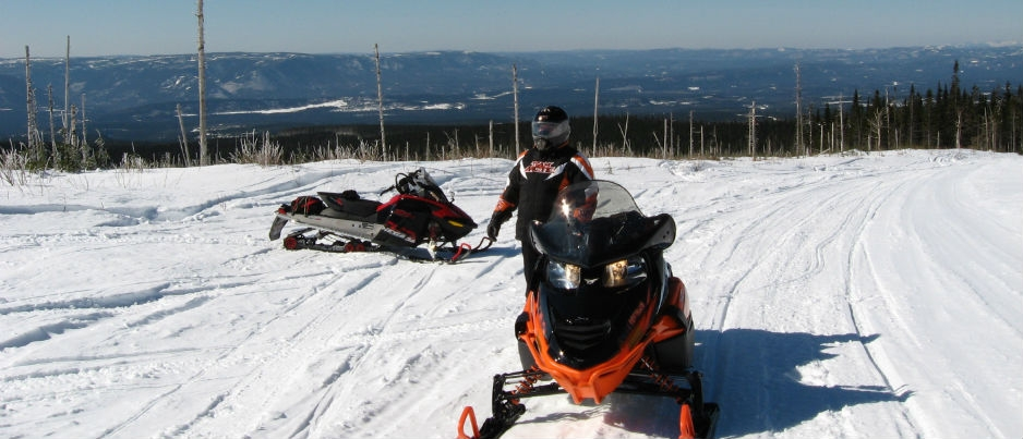 The Chic-Chocs-Forillon Snowmobiling Loop
