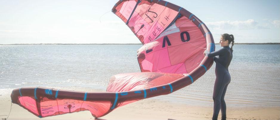 Le vent : source d'amusement dans l'est du Québec!