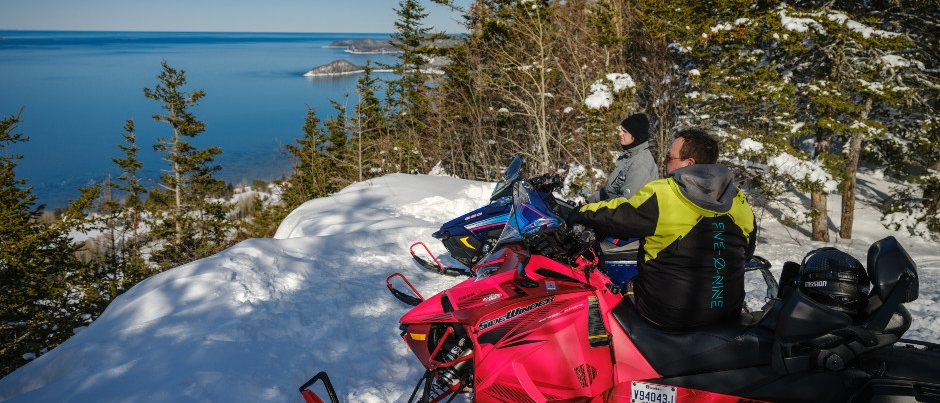 20 Sea, Forest and Mountain Landscapes to See During a Snowmobile Trip in Eastern Québec