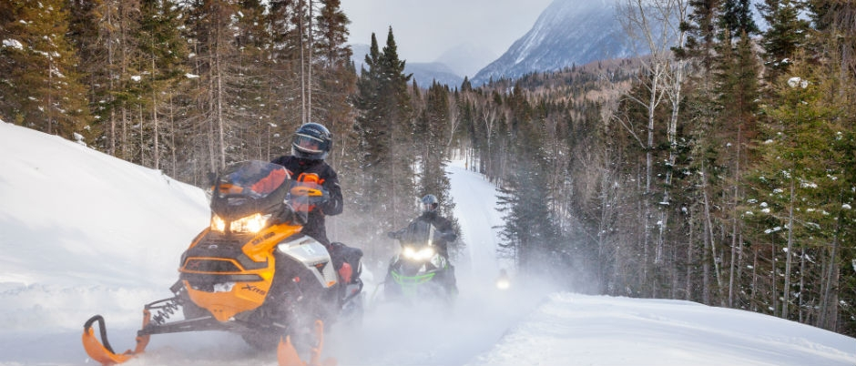 What to See by Snowmobile in Eastern Québec: The Chic-Chocs