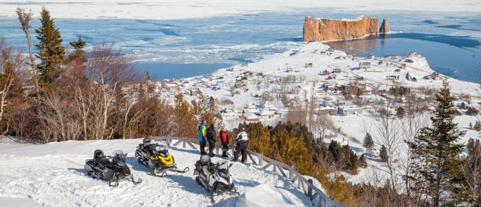 7 Snowmobile Rides to Explore in Gaspésie