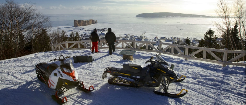 Snowmobiling in Gaspésie: 4 Stunning Panoramic Views
