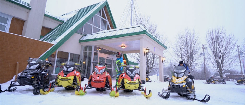 Snowmobile-Friendly Lodging in Gaspésie