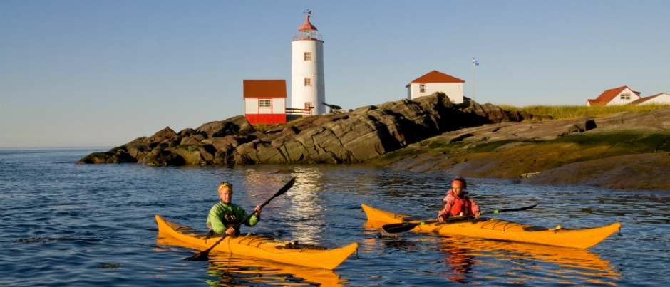 Bas-Saint-Laurent: A Mecca for Sea Kayakers