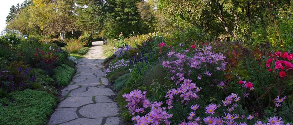 My Trip in Gaspésie: The Reford Gardens