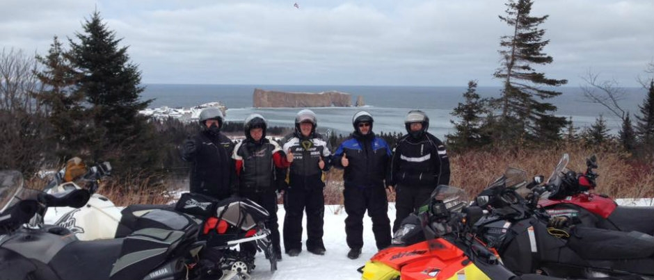 Des motoneigistes emballés par leur séjour au Bas-Saint-Laurent et en Gaspésie!