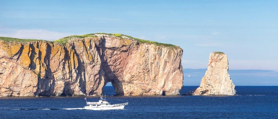 Découvrir le Québec maritime en formule accompagnée